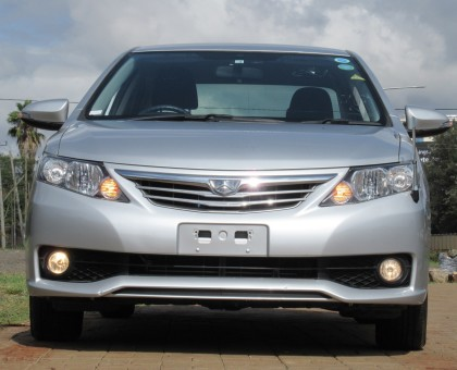 Toyota Allion 2014 model silver color