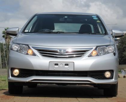 Toyota Allion 2014 model silver color