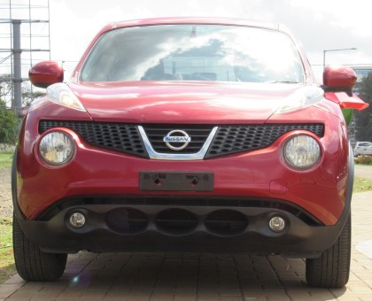 Nissan Juke 2014 Model Red color