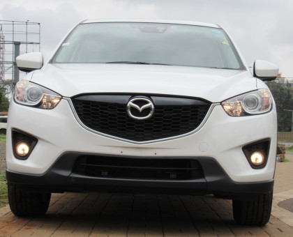 Mazda CX5 Pearl white color 2014 Model