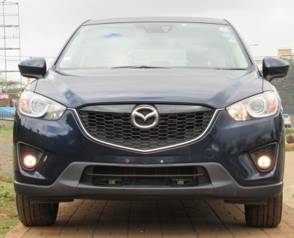 Mazda CX5 Blue color 2014 model excellent condition