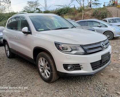 2013 Volkswagen Tiguan unused locally