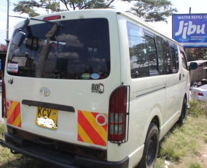 Toyota Hiace Tour Van