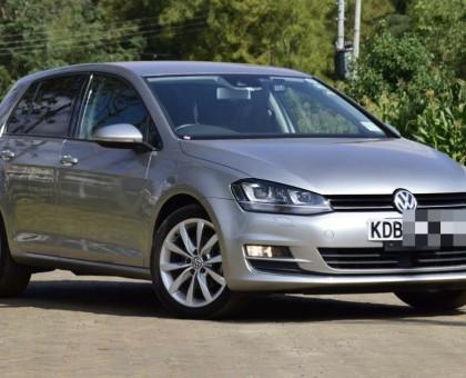 Volkswagen golf mk7 1400cc