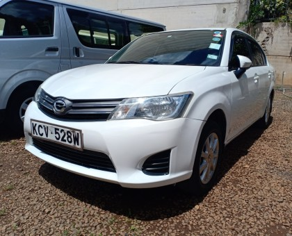 Extremely Clean Toyota Axio 2012