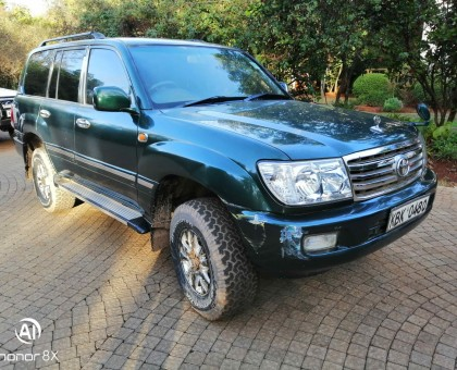TOYOTA LANDCRUISER GX100 LOCAL KBK