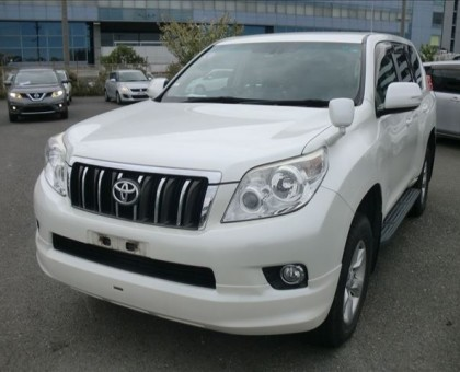 Toyota landcruiser prado TXL 2012 KCV
