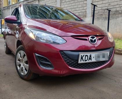 Mazda Demio 2013 model