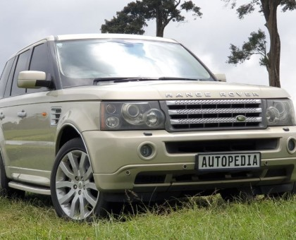 Mint Condition Range Rover Sports/ TDV8/ Sand Track/ Year 2007/ SUNROOF